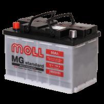 аккумулятор автомобильный Moll Standart 80 L+ 80 Ач 750 А