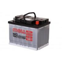 аккумулятор автомобильный Moll Standart 55 L+ 55Ач 490А