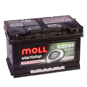 аккумулятор автомобильный Moll Start-Stop EFB 60 R+ 60 Ач 600 А