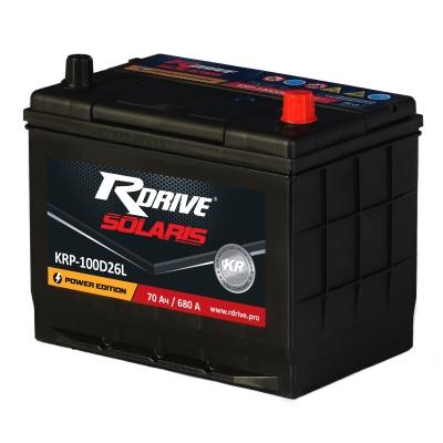 Аккумулятор RDrive SOLARIS  100D26L 70Ач R+