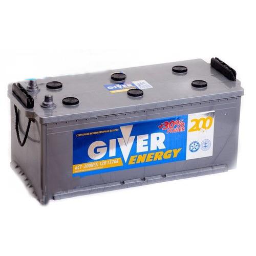 GIVER ENERGY 6СТ-200 (узкий евро конус)