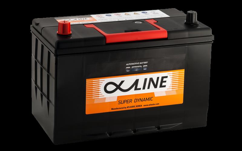аккумулятор автомобильный ALPHALINE 125D33R 115Ah 900A
