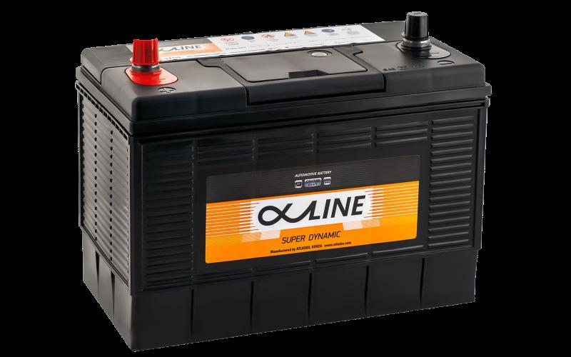 аккумулятор автомобильный ALPHALINE 31-1100 140Ah 1100A