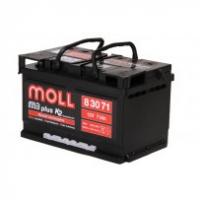 аккумулятор автомобильный Moll M3 Plus 71 R+ низкий 71 Ач 590 А