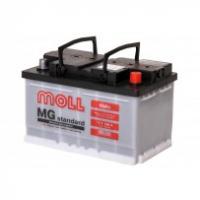 аккумулятор автомобильный Moll Standart 66 R+ низкий 66 Ач 650 А