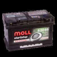 аккумулятор автомобильный Moll Start-Stop EFB 65R+