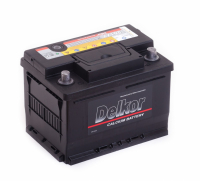 аккумулятор автомобильный DELKOR 6СТ-61 R+ 56177