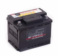 аккумулятор автомобильный DELKOR 6СТ-60 L+ 56031