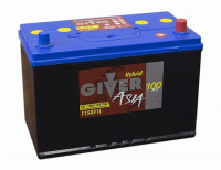 аккумулятор автомобильный GIVER ASIA 6СТ -100 R+ (115D31L)