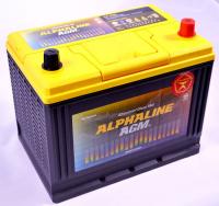 аккумулятор автомобильный ALPHALINE AGM START-STOP D23L