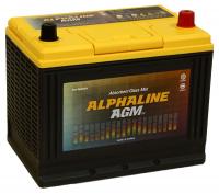 автомобильный аккумулятор ALPHALINE AGM START-STOP D26L