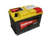 аккумулятор автомобильный HANKOOK Start-Stop Plus AGM 6СТ-70 R+ (SA 57020)