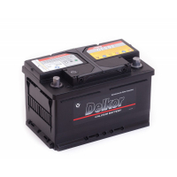 аккумулятор автомобильный DELKOR 6СТ-65 R+ 56530