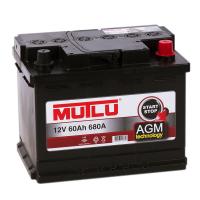 аккумулятор автомобильный MUTLU CALCIUM AGM 60