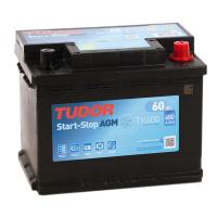 Аккумулятор автомобильный Tudor AGM 60R Start-Stop TK600