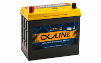 аккумулятор автомобильный ALPHALINE ULTRA 75B24R 59Ah 550A