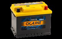 аккумулятор автомобильный ALPHALINE ULTRA 62SR 62Ah 610A