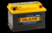 аккумулятор автомобильный ALPHALINE ULTRA 74SR 74Ah 750A