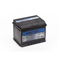 аккумулятор автомобильный VEKTOR PLUS 6CT-60 60Ач 480А
