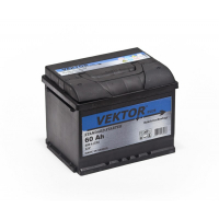 аккумулятор автомобильный VEKTOR PLUS 6CT-60R+ 60Ач 480А