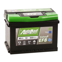 аккумулятор автомобильный AUTOPART GALAXY EFB 60SR 60 А/ч 560 А