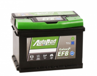 аккумулятор автомобильный AUTOPART GALAXY EFB 62R 62 А/ч 580 А