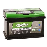 аккумулятор автомобильный AUTOPART Galaxy EFB 70SR 70 А/ч 650 А
