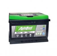 аккумулятор автомобильный AUTOPART Galaxy EFB 72R 72 А/ч 720 А